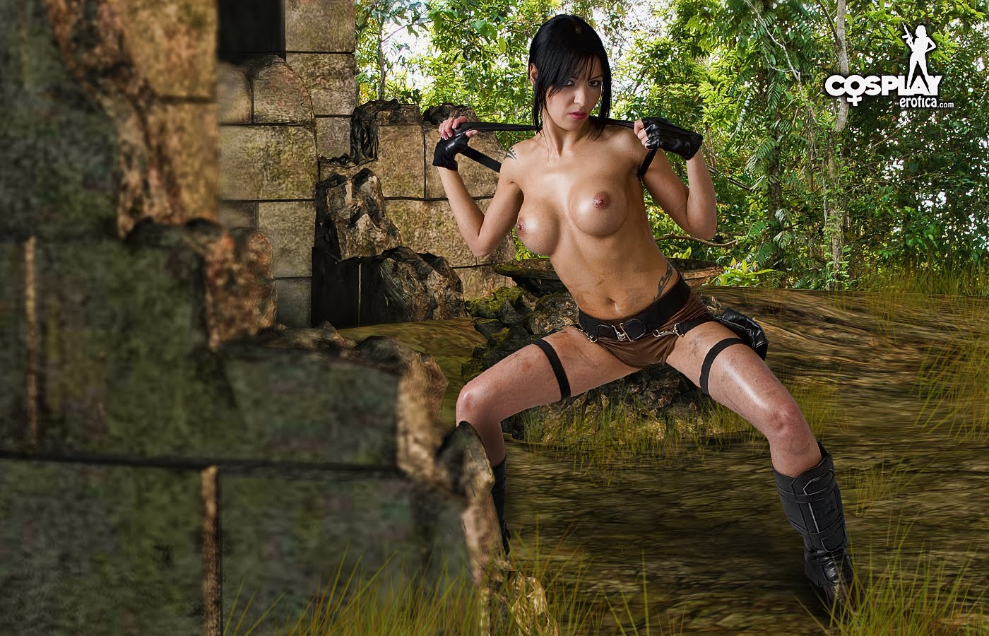 3d lara croft underword nude photos sexy pic