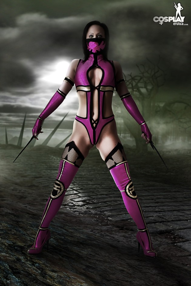Kyra as Mileena