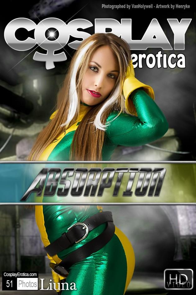 Liuna Coverart by CosplayErotica.com